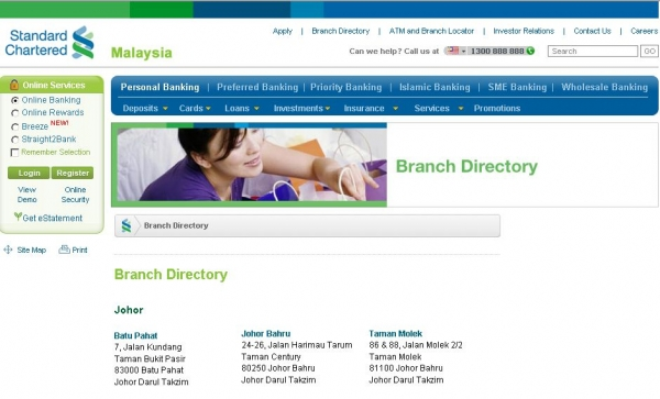 standard chartered foreign currency account malaysia